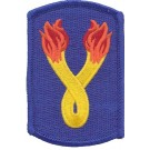 196th Infantry Patch