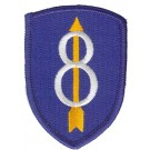 8th Division Patch