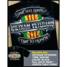 Vietnam Veterans Time Served T-shirt