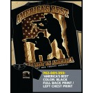 America's Best Support Our Troops Abroad T-shirt