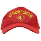 4th Marine Division Cap