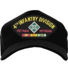 4th Infantry Division Vietnam Veteran Cap
