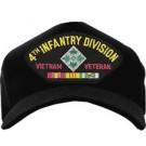 4th Infantry Division Vietnam Veteran Cap