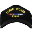 Combat Veteran Korea Cap