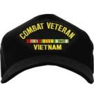 Combat Veteran Vietnam Cap