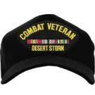 Combat Veteran Desert Storm Cap