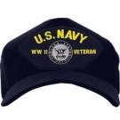US Navy WWII Veteran Cap