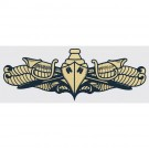 Surface Warfare Gold Decal