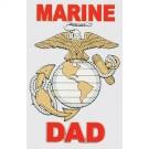 Marine Dad Decal