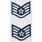 USAF E-5 Staff Sgt. 2 pc. Decal