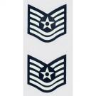 USAF E-6 Tech. Sgt. 2 pc. Decal