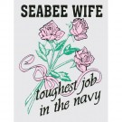 Seabee Wife Decal