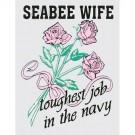 Seabee Wife Decal