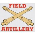 Field Artillery Decal