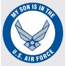 My Son is in the Air Force Decal