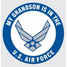 My Grandson is in the Air Force Decal