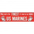 FINEST US Marines Decal