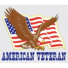 American Veteran Decal
