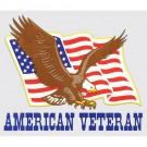 American Veteran Decal