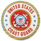 U.S. Coast Guard Sticker (Lg)