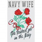 Navy Wife Decal