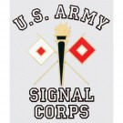 Army Signal Corps Decal