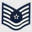 USAF E-6 Tech Sgt. Decal