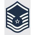 USAF E-7 Master Sgt. Decal