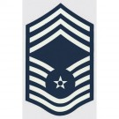 USAF E-9 Chief Mst. Sgt. Decal