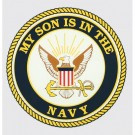 My Son is in the Navy Decal
