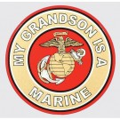 My Grandson is a Marine Decal