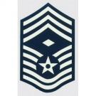 USAF E-9 Chief SGT. Decal