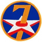 7th Air Force Patch/Small