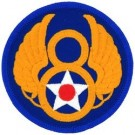 8th Air Force Patch/Small