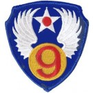 9th Air Force Patch/Small