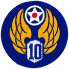 10th Air Force Patch/Small