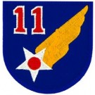 11th Air Force Patch/Small