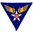 12th Air Force Patch/Small