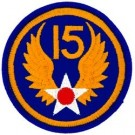 15th Air Force Patch/Small