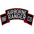 A/B Ranger Inf Co Patch/Small