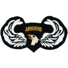 101st A/B Wings Patch/Small