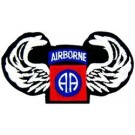 82nd A/B Wings Patch/Small