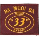 Ba Muoi Ba 33 Patch/Small