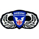 11th A/B Wings Patch/Small