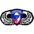 187th A/B Wings Patch/Small