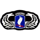 173rd A/B Wings Patch/Small
