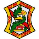 1st Bn 4th Marine Patch/Small