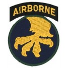 17th A/B Div Patch/Small