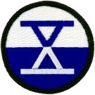 10th Corps Patch/Small