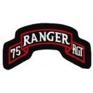 75th Ranger Regt Patch/Small